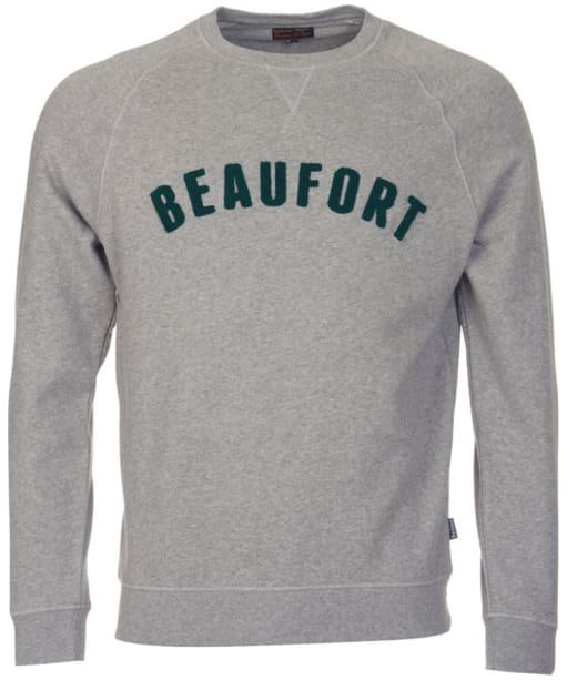 Men's Barbour Affliate Crew Neck Sweater - Grey Marl