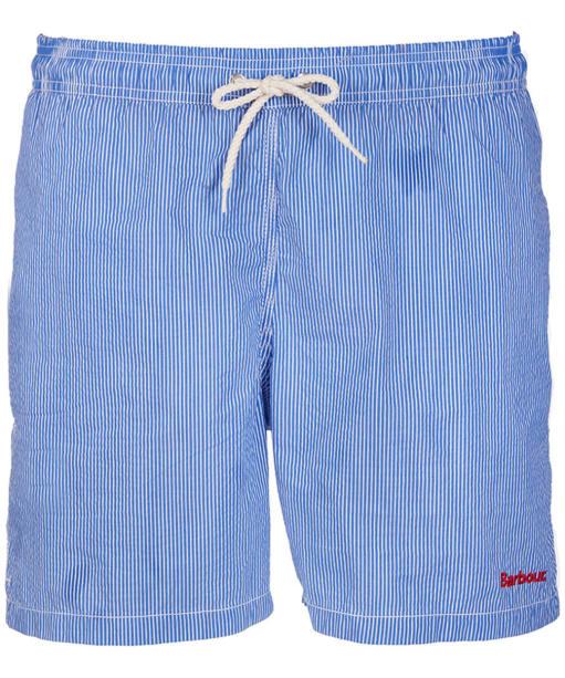 Men's Barbour Striped Shorts - Blue