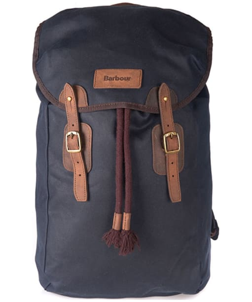 Barbour Wax Backpack - Navy