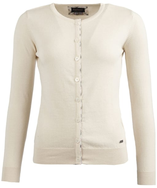 Women's Barbour Hamerley Cardigan - Cream