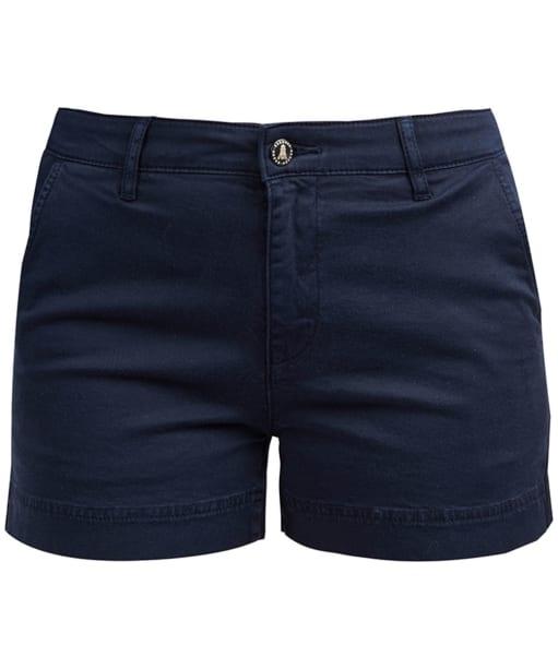Women's Barbour Harewood Shorts - Navy