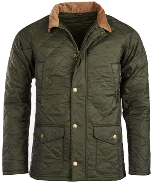 Men's Barbour Canterdale Quilted Jacket - Forest