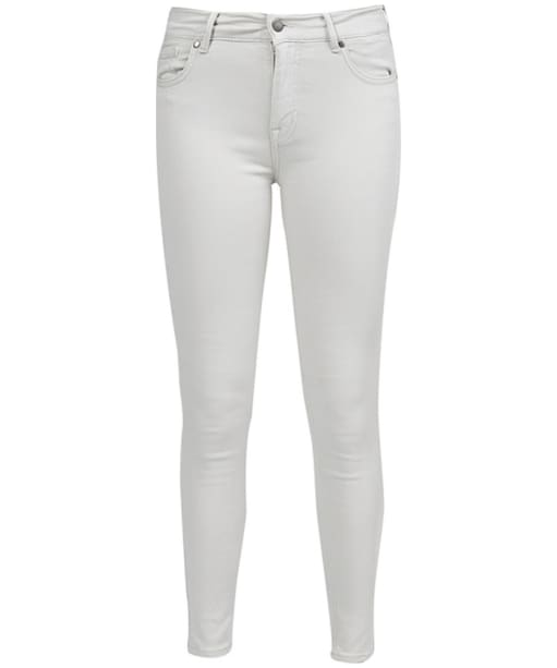 Women's Barbour Essential Cropped Trousers - Silver Ice