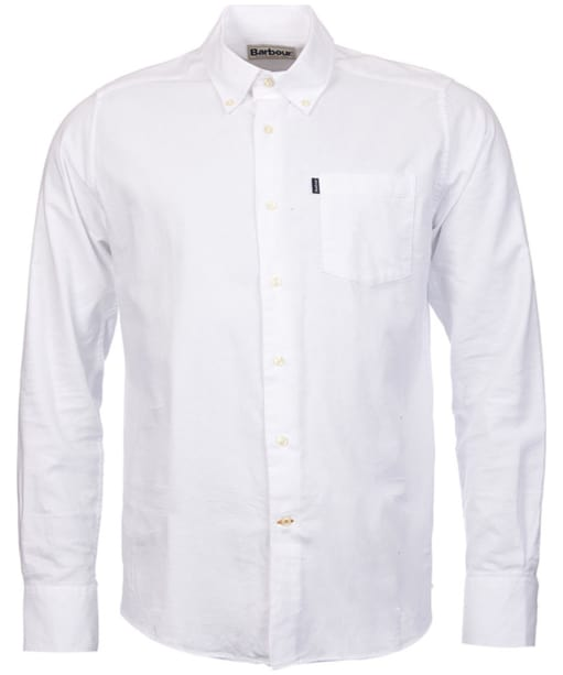 Men's Barbour Stanley Tailored Fit Shirt - White