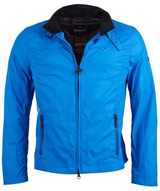 Men's Barbour International Tailored Track Jacket - Royal Blue