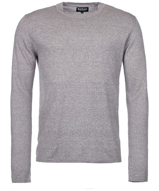 Men's Barbour International Dunsford Crew Neck Sweater - Grey