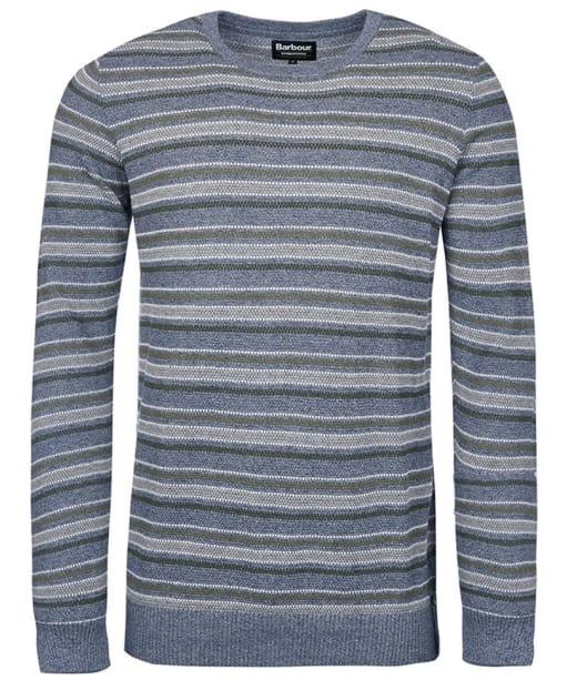 Men's Barbour International Heyford Crew Neck Sweater - Chambray Marl