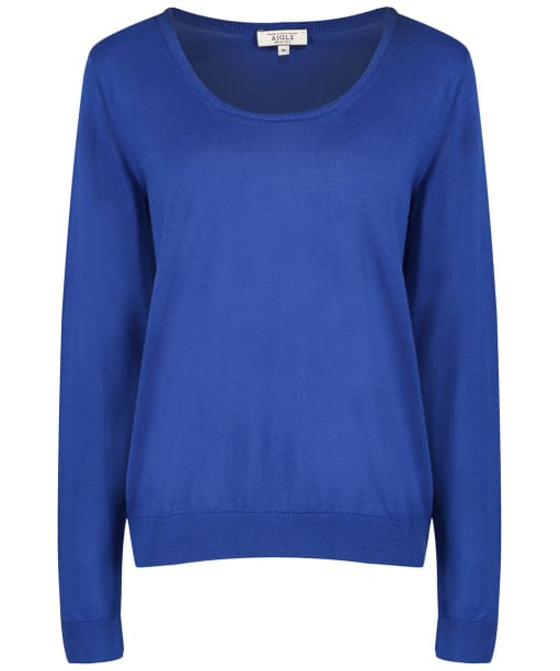 Women's Aigle Acalis Sweater - Encrebleu