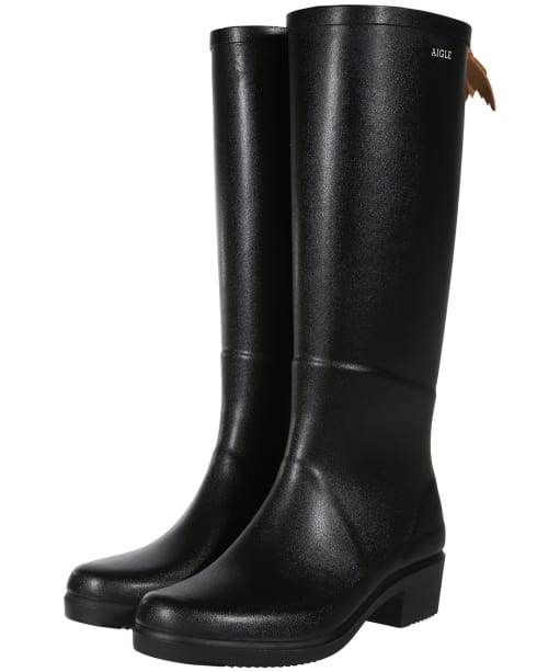 Women's Miss Juliette A Wellingtons - Black