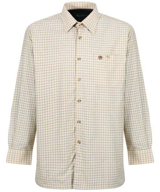 Mens Alan Paine Bury Fleece Lined Shirt - Gold
