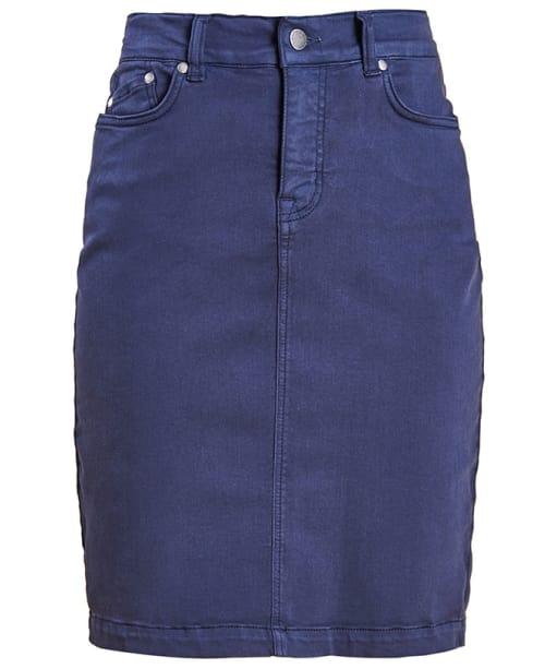 Women's Barbour Essential Skirt - Navy