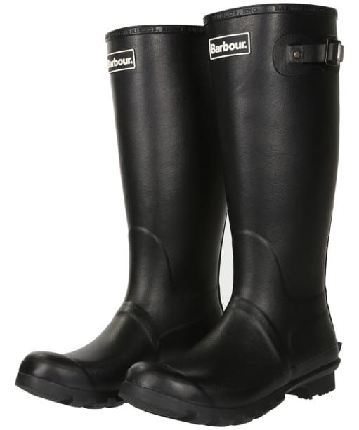 Men's Barbour Bede Wellingtons - Black