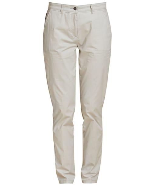 Women's Barbour Alasdiar Trousers - Light Grey