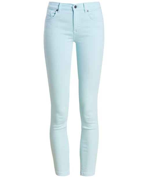 Women's Barbour Essential Cropped Trousers - Aqua