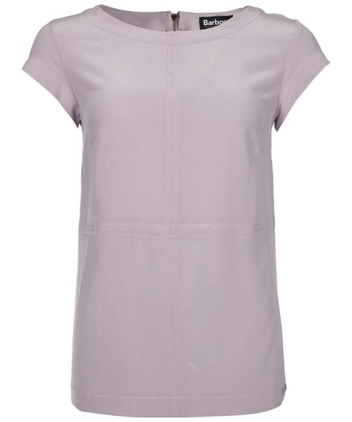 Women's Barbour International Silk Shadow T-Shirt - Amethyst