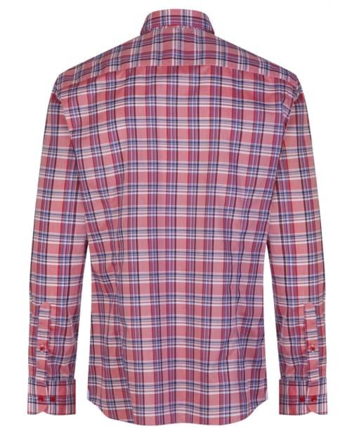 Men's Hackett Bold Check Shirt - Red / Navy