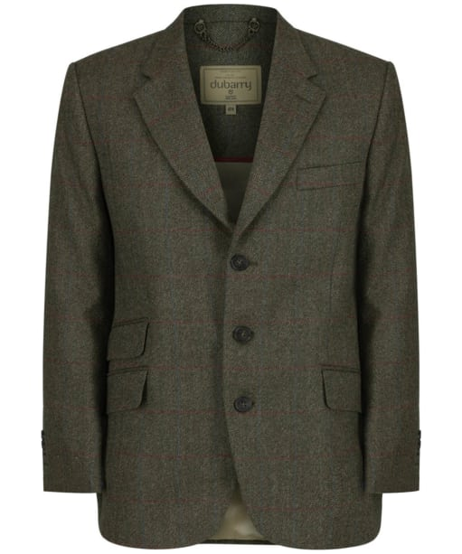 Men's Dubarry Gorse Tweed Tailored Jacket - Moss