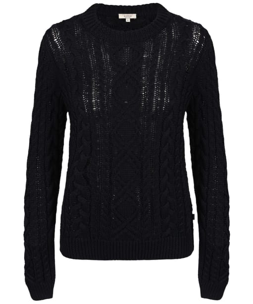 Women's Aigle Cablesand Jumper - Midnight