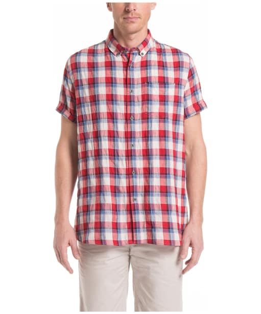 Men's Aigle Precy Check Shirt - Cerise Check