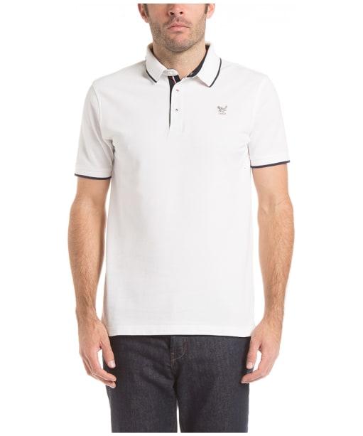 Men's Aigle Bartley Polo Shirt - White