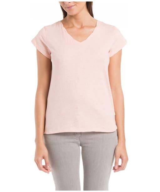 Women's Aigle Clerodren T-shirt - Heather Light Goya