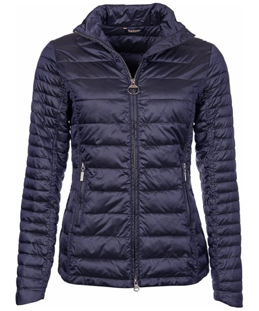 Women's Barbour Iona Quilted Jacket - Navy