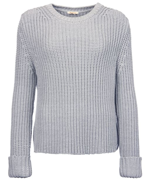 Women's Barbour Clove Hitch Sweater - Silver Ice