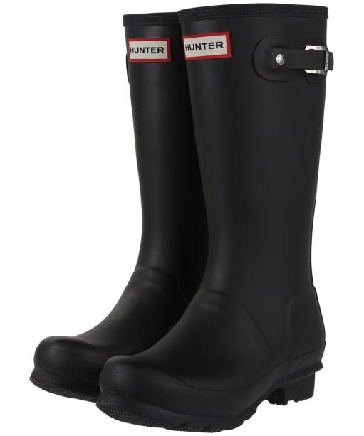 Hunter Original Kids Wellington Boots, 12-4 - Black