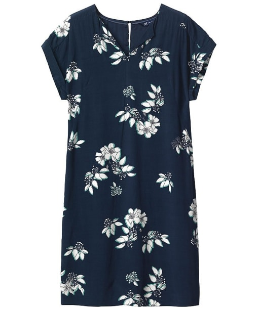 Women's Crew Clothing Blossom Print Dress - Blossom Navy / White