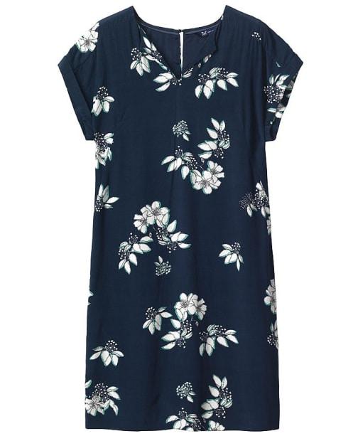 Women's Crew Clothing Blossom Print Dress - Blossom Navy / White