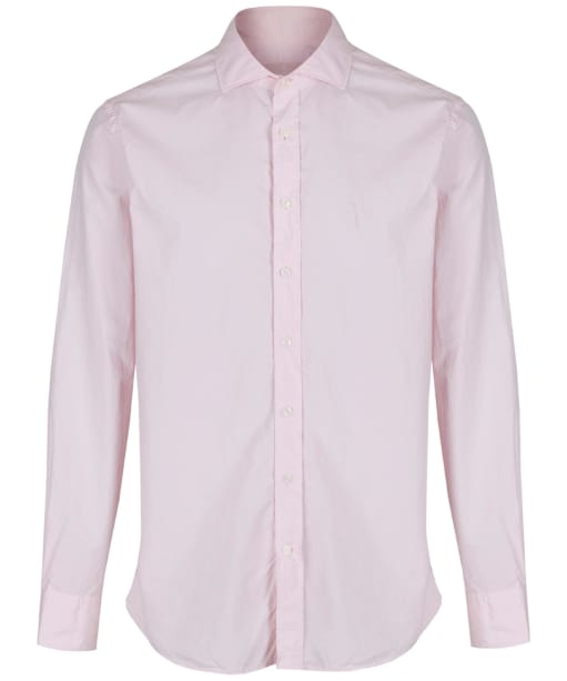 Men's Hackett Dyed Pop Slim Shirt - Light Pink