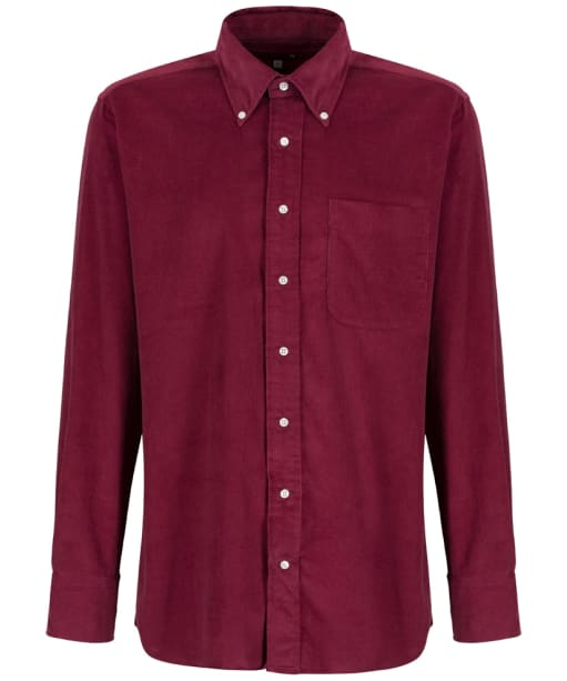 Men's Ptarmigan Corduroy Shirt - Burgundy