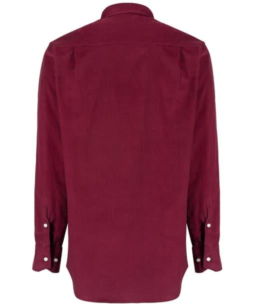 Men's Ptarmigan Corduroy Shirt - Burgundy