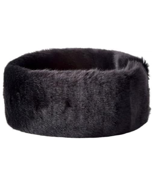 Women's Dubarry Faux Fur Headband - Black