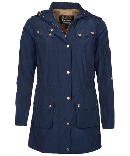 Women's Barbour International Delter Casual Jacket - Navy