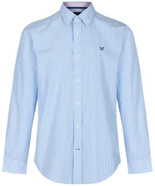 Men's Crew Clothing Classic Stripe Shirt - Sky