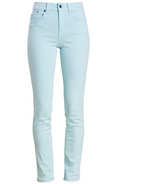 Women's Barbour Essential Slim Trousers - Aqua