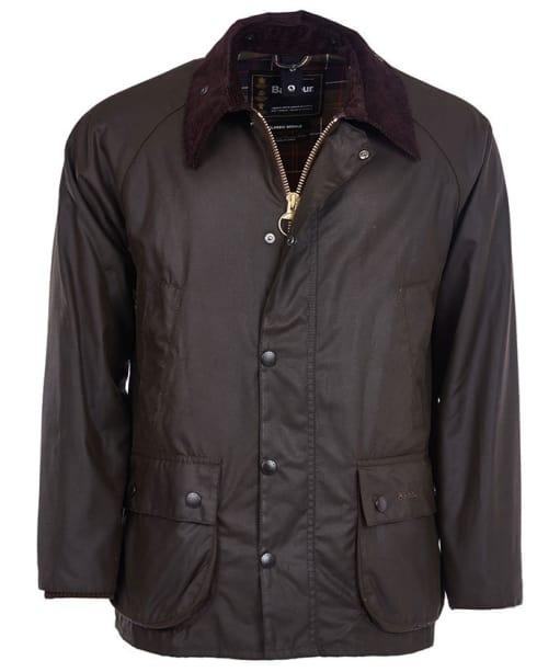 Men's Barbour Classic Bedale Jacket - Olive | Classic Tartan