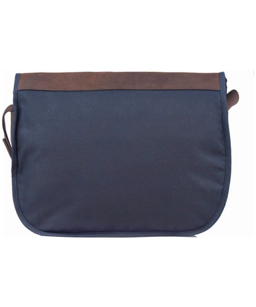 Barbour Wax and Leather Tarras Bag - Navy
