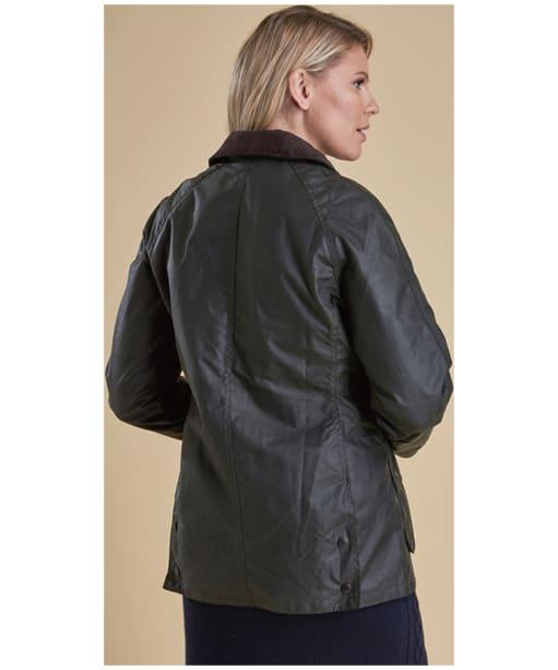 Women's Barbour Beadnell Wax Jacket - Sage