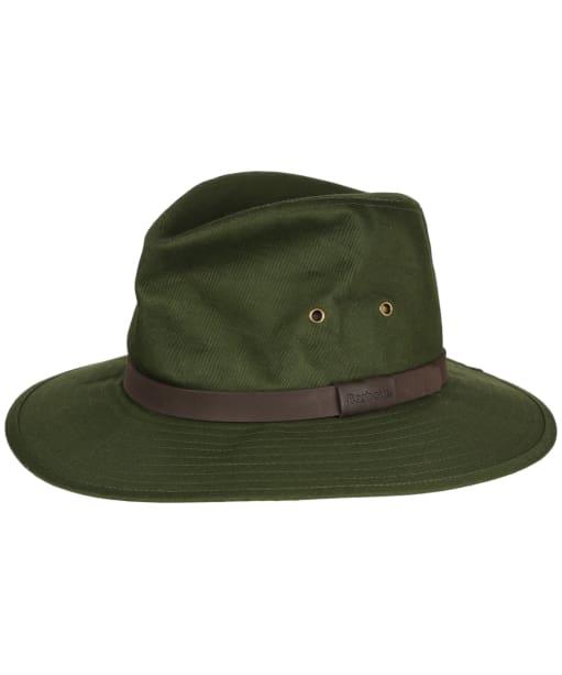 Men's Barbour Cotton Bushman Hat - Olive