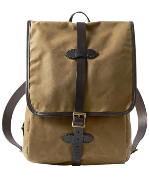 Filson Tin Cloth Backpack - Dark Tan