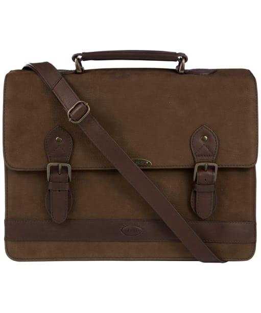 Dubarry Belvedere Leather Brief Bag - Walnut