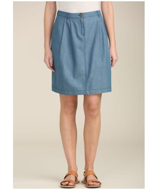 Women's Seasalt Riffler Skirt - Indigo Light Wash