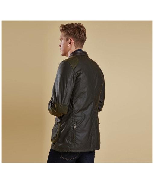 Men's Barbour Beacon Sports Jacket - Olive