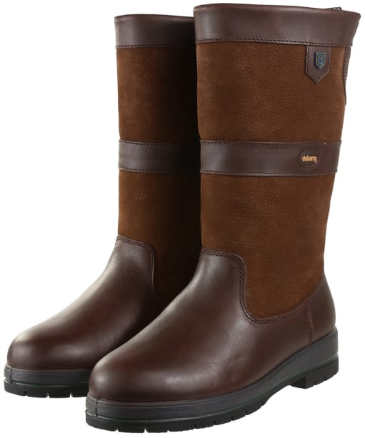 Dubarry Donegal Thermal Leather Boots - Walnut