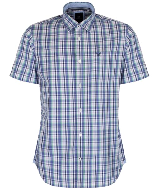 Men's Crew Clothing Lingfield Shirt - Dark  Cornflower