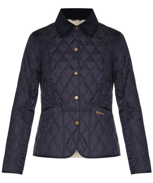 Barbour Ladies Summer Liddesdale Jacket - Navy | Pearl