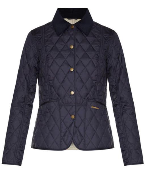 Barbour Ladies Summer Liddesdale Jacket - Navy | Pearl