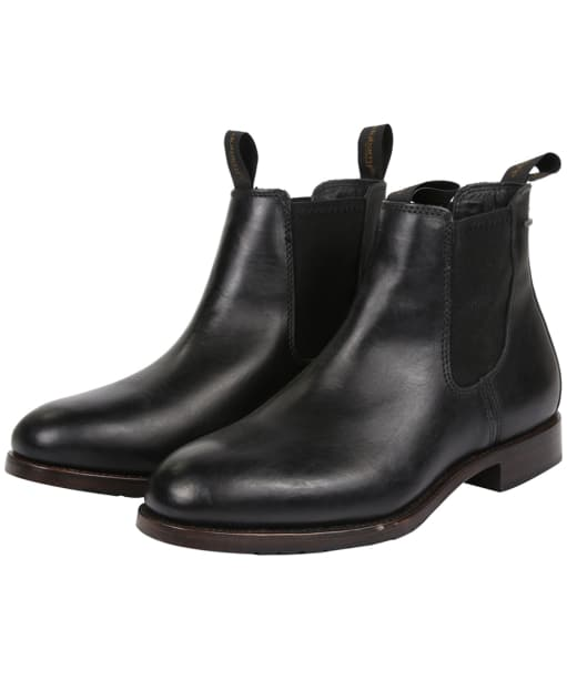 Men's Dubarry Kerry Leather Boots - Black